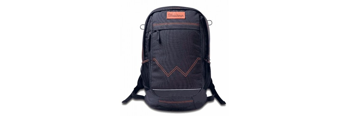 Wac By Wrangler Men Black Comanche Backpack