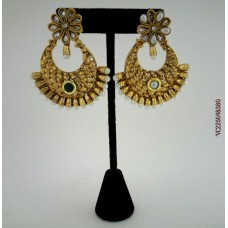 Gold Plated Beautiful Earrings