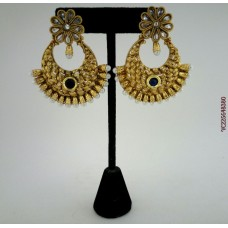Gold Plated Alloy Earrings