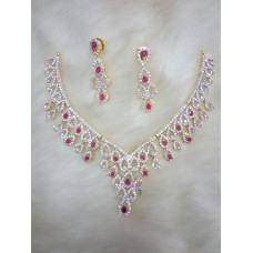 Alloy Jewel Necklace