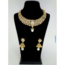 Alankruthi Antique Zaveri Pearl Traditional Necklace
