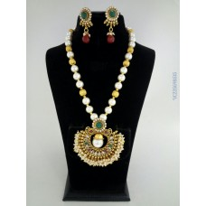 Alankruthi Antique Multicolour Traditional Necklace