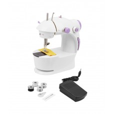 Imported Portable Electric 4 In 1 Sewing Machine with Foot Pedal